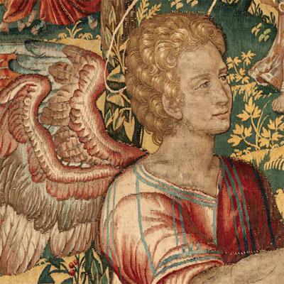 280615 – Tapestry - Hardwick Hall, Durham