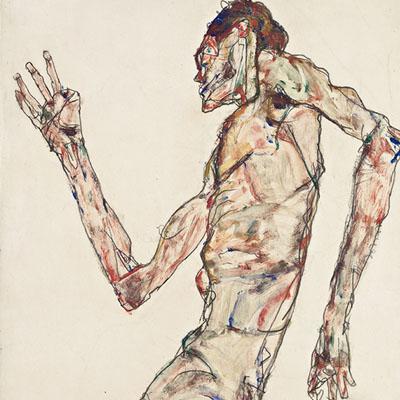 040115 – Schiele – Courtauld Gallery, London