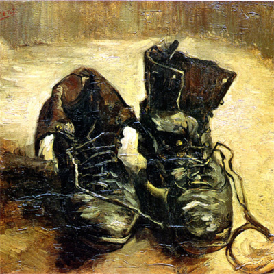 300320 – Van Gogh's Shoes – The Relevance of Mis-Readings – London